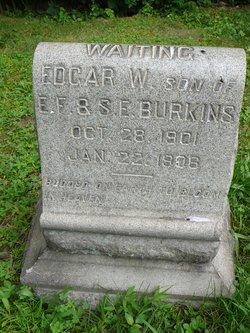 Edgar W Burkins