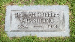 Beulah <I>Greeley</I> Armstrong