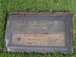 Alma Blon <I>Biscoe</I> Marriott