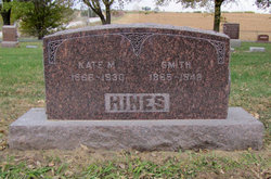 Kate M <I>Barton</I> Hines