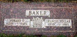 Frances Lee <I>Hollar</I> Baker