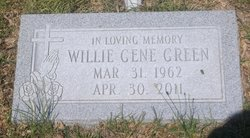 Willie Gene Green