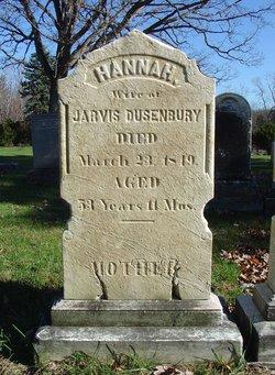 Hannah <I>Winne</I> Dusenbury