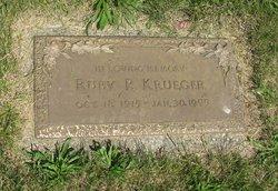 Ruby P Krueger