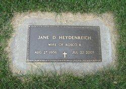 Jane D Heydenreich