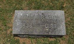 Mary Jane <I>Williams</I> Brady