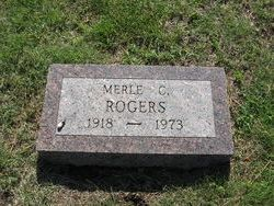 Merle C Rogers