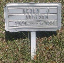 Neola J Addison