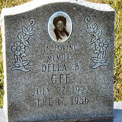 Della Bell <I>Johnson</I> Gee