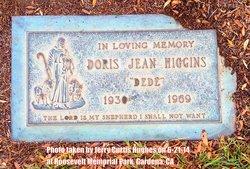 "Doris Jean ""Dede"" Higgins"