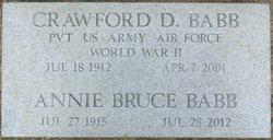 Annie Bruce Babb