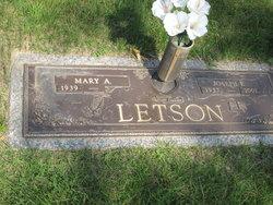 Joseph E Letson