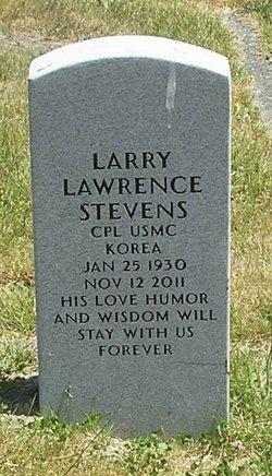 Larry Lawrence Stevens