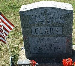 Edna Jane <I>Harp</I> Clark