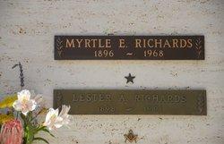 Myrtle Evelyn Richards