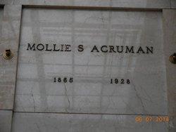 "Marie S. ""Mollie"" <I>Lochridge</I> Acruman"