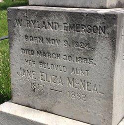 W Ryland Emerson
