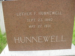 Luther F. Hunnewell