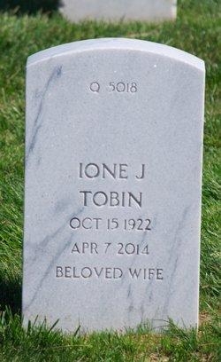 Ione J Tobin