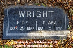 "Clara Eliza ""Jane"" <I>Zinn</I> Wright"
