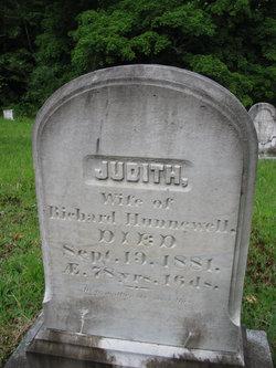 Judith <I>Richardson</I> Hunnewell