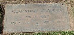 Granville Maurice Allen