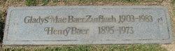 Gladys Mae <I>Baer</I> Zurflueh