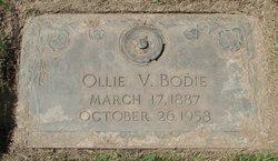 Ollie V Bodie