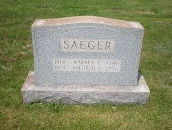 Mildred Anna <I>Steifel</I> Saeger