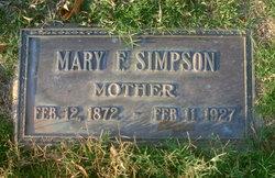 Mary F. Simpson