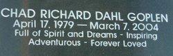 Chad Richard Dahl Goplen