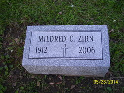 Mildred C Zirn