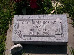 Opal <I>Hollingshad</I> Carte