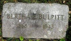 Bertha E. <I>Duey</I> Bulpitt
