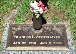 Frances Louise <I>Whorton</I> Stotelmyer