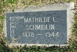 "Mathilde ""Matilda"" <I>Wad</I> Schmidlin"