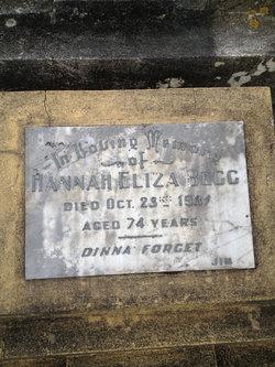 Hannah Eliza <I>Denley</I> Begg