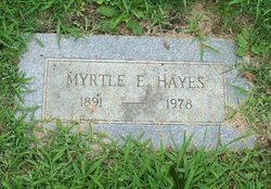 Myrtle E. Hayes