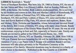 "Randolph J. ""Randy"" Liddick"