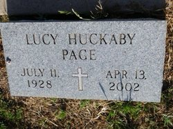 Lucy Huckaby Page