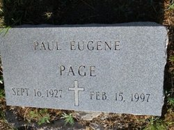 Paul Eugene Page