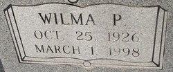 Wilma P <I>Baker</I> Marler