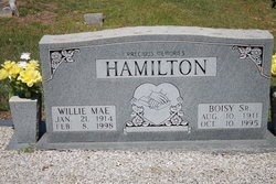 Willie Mae <I>Smith</I> Hamilton