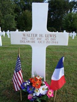 PFC Walter H Lewis
