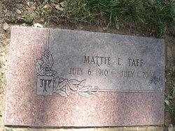 Mattie Laura <I>Young</I> Taff