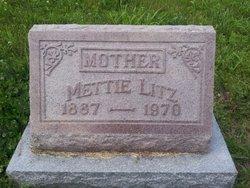 Mettie <I>Moon</I> Litz