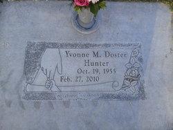 Yvonne M <I>Doster</I> Hunter