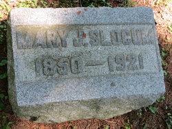 Mary Jane <I>Patterson</I> Slocum