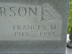 Frances Marie <I>Conrad</I> Anderson