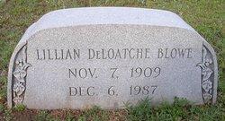 Lillian <I>DeLoatche</I> Blowe